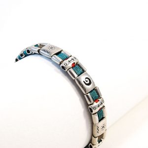 Brown & turquoise soul & optimism Bracelet
