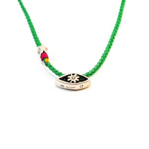 Green trust & hope Necklace