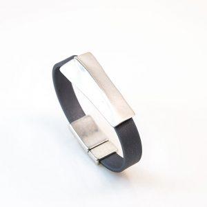 Silver bracetet