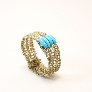 Handcrafted  Bracellet with Turquoise
