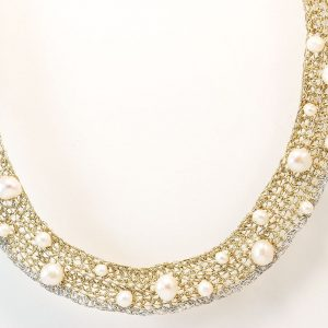 Handcrafted Necklace with Pearl
