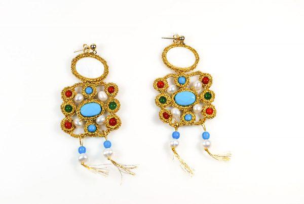 Ekavi Handcrafted Earrings