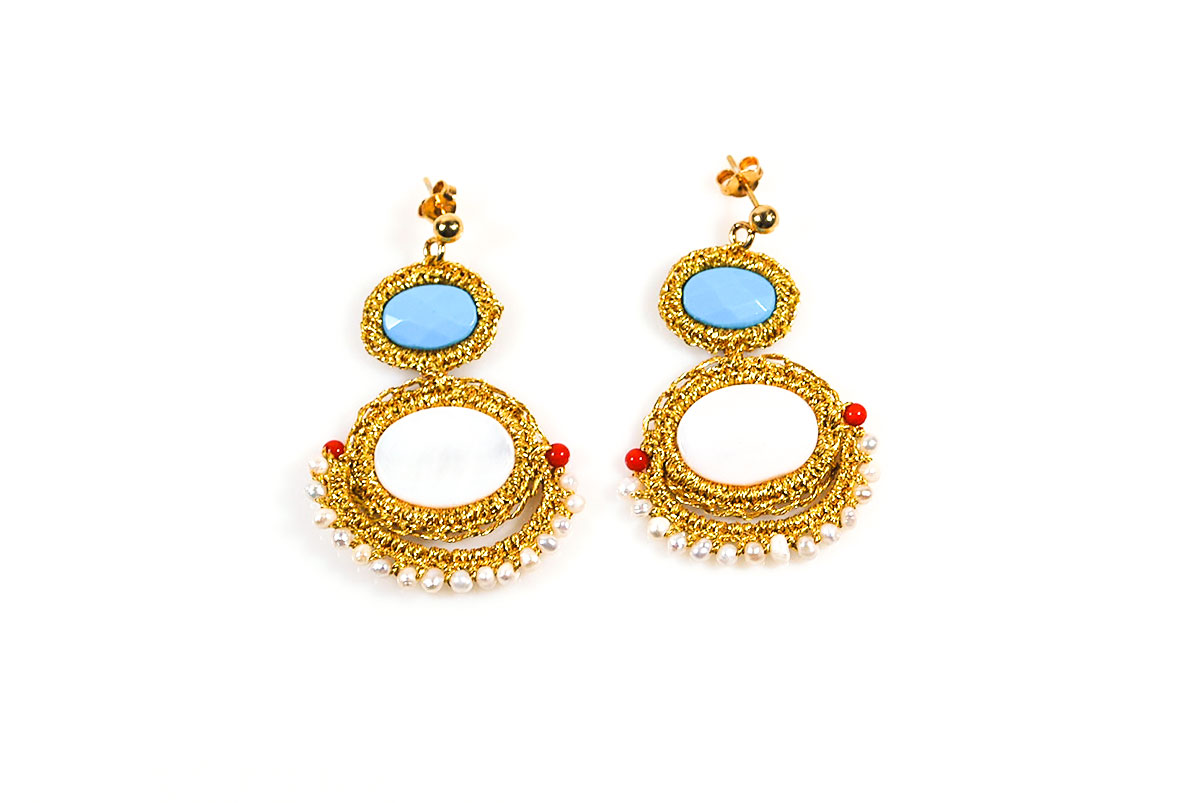 earrings kundalahalli jhumka rs silk handcrafted pair product proddetail at