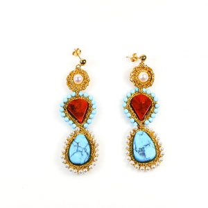 Atalanti  Handcrafted Earrings