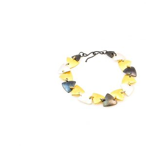 3 colors Goldplated & Oxidised silver  Bracelet