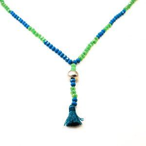 Boho crystal beads Necklace